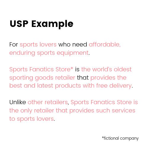 Small Business Marketing Ideas - USP Example