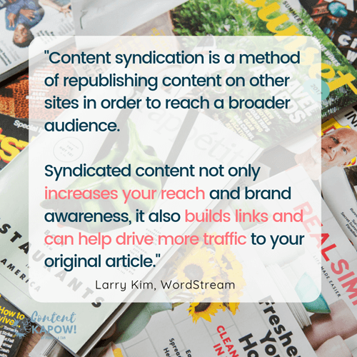 Small Business Marketing Ideas - Syndicate Content