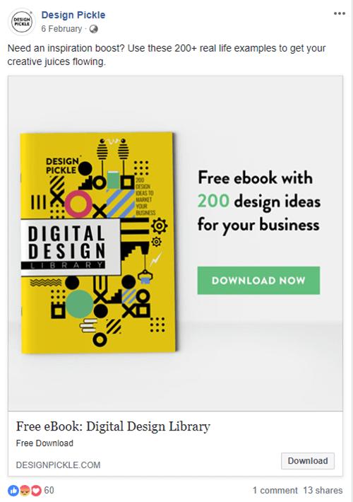 Small Business Marketing Ideas - Facebook ads