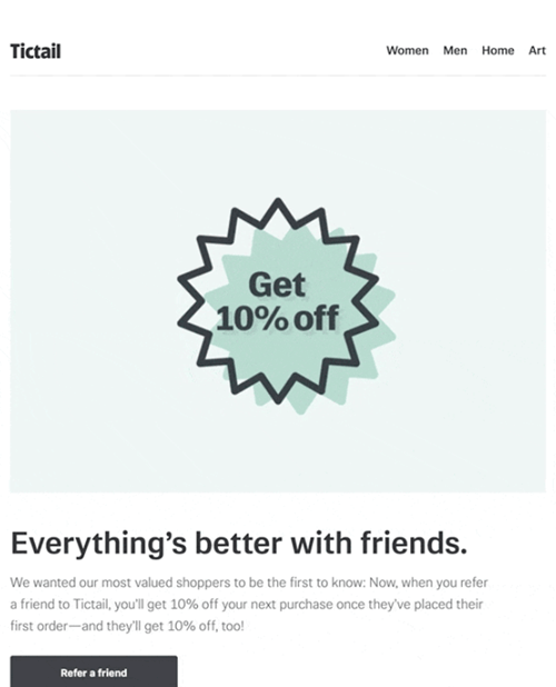 Small Business Marketing Ideas - Referral Emails