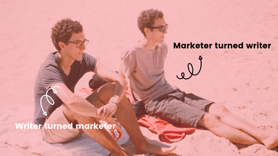 First Blog Post Writer With Marketing Background