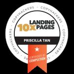 PRISCILLA 10x Landing Pages Badge (1)